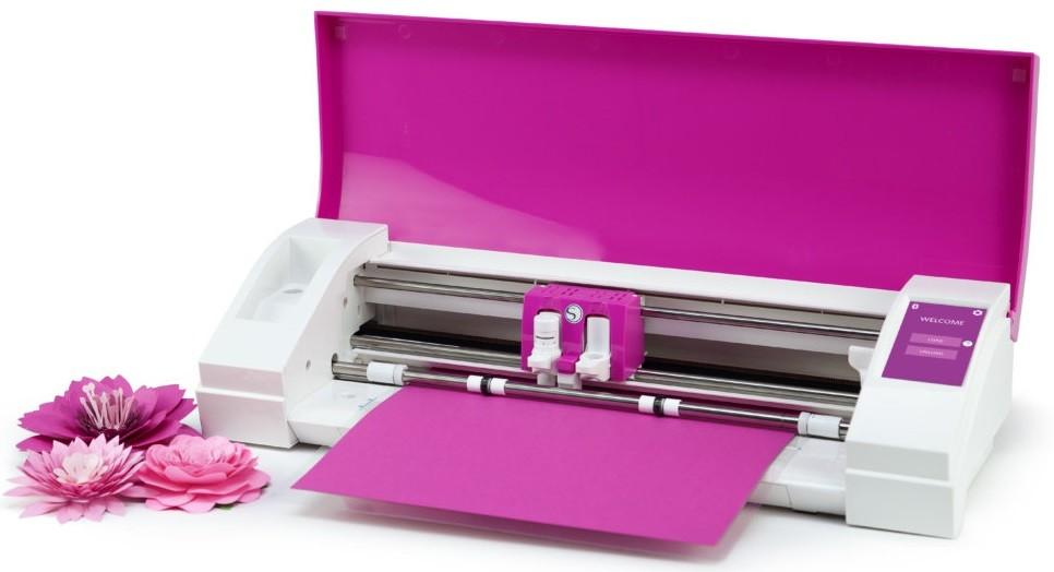 Plotter de Recorte Silhouette Cameo 3 Pink lid - cor Pink  - Minas Midias