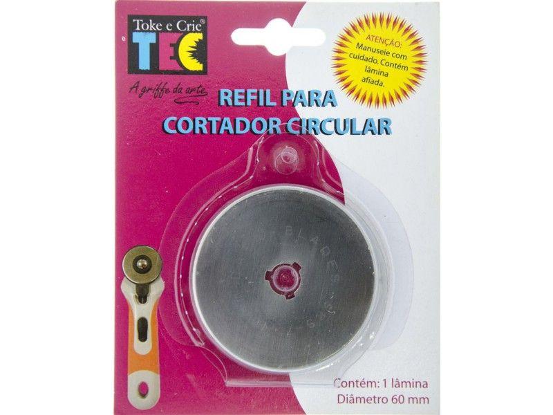 Refil para Cortador Circular Continuo 60 mm  - Minas Midias