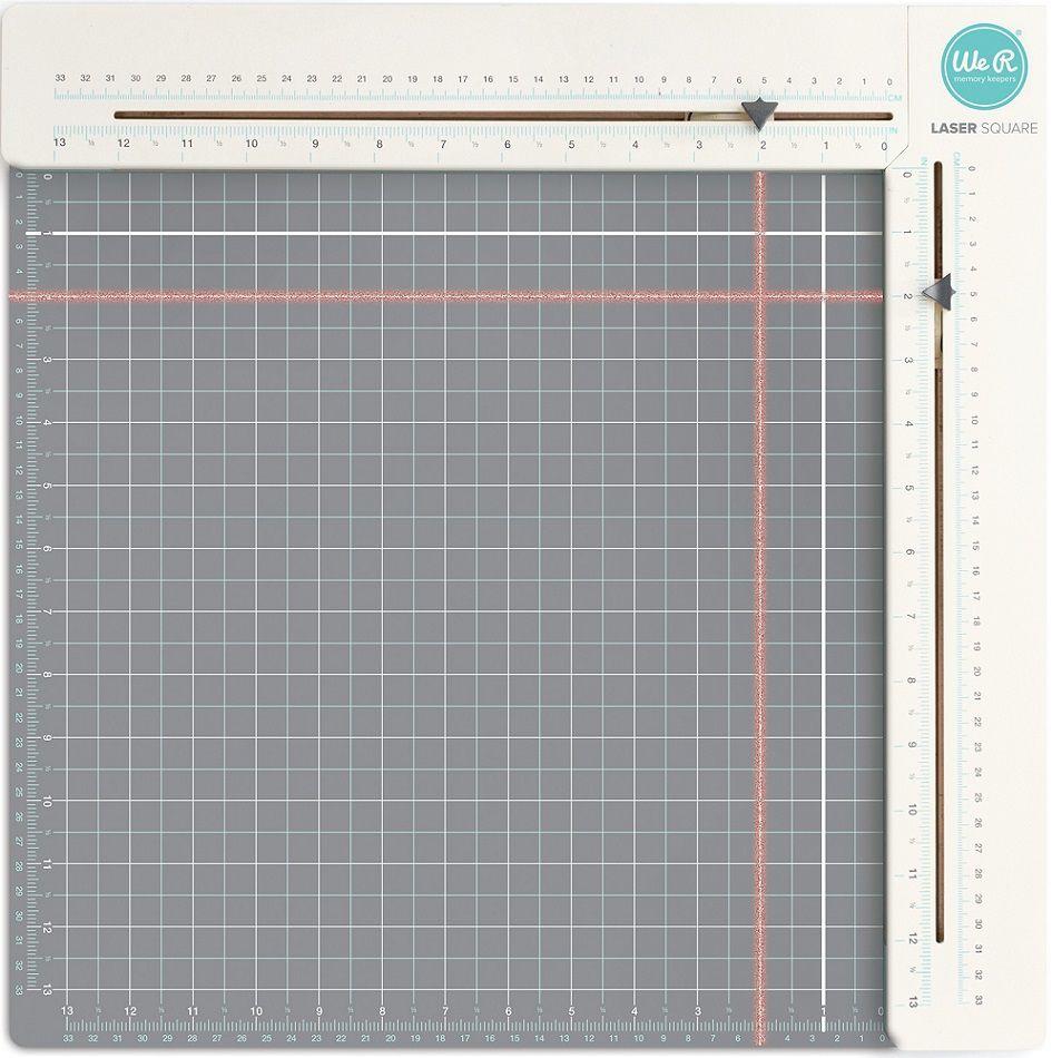 Régua Medidora Laser (Laser Square and Mat Euro)  - Minas Midias
