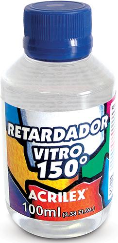 Retardador Vitro 150 Acrilex  - Minas Midias