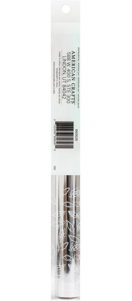 Rolo de Foil 30,5 X 240cm Prata - Foil Roll Silver WeR  - Minas Midias