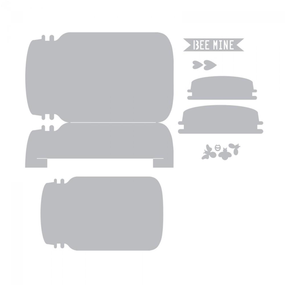 Faca de Corte Sizzix Thinlits Die - Cartão  - Minas Midias