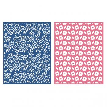 Placa de Textura - LC Embossing Folder Gazebo  - Minas Midias
