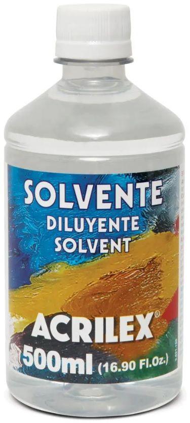 Solvente 500ml Acrilex  - Minas Midias