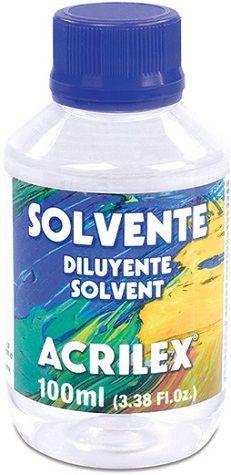 Solvente 100ml Acrilex  - Minas Midias