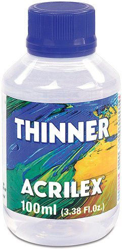 Thinner 100ml Acrilex  - Minas Midias