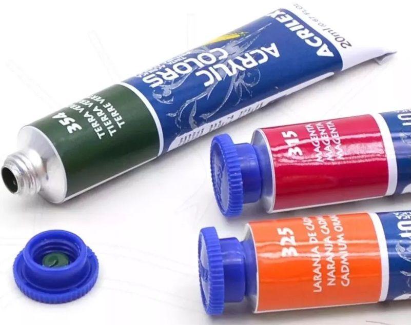 Tinta Acrylic Colors Acrilex 59ml  - Minas Midias