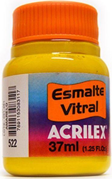 Tinta Aerógrafo Esmalte Vitral Acrilex 37ml  - Minas Midias
