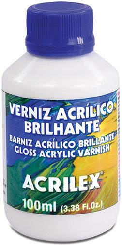 Verniz Acrílico Brilhante 100ml Acrilex  - Minas Midias