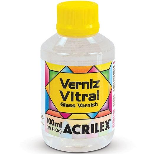 Verniz Vitral Acrilex 100ml  - Minas Midias