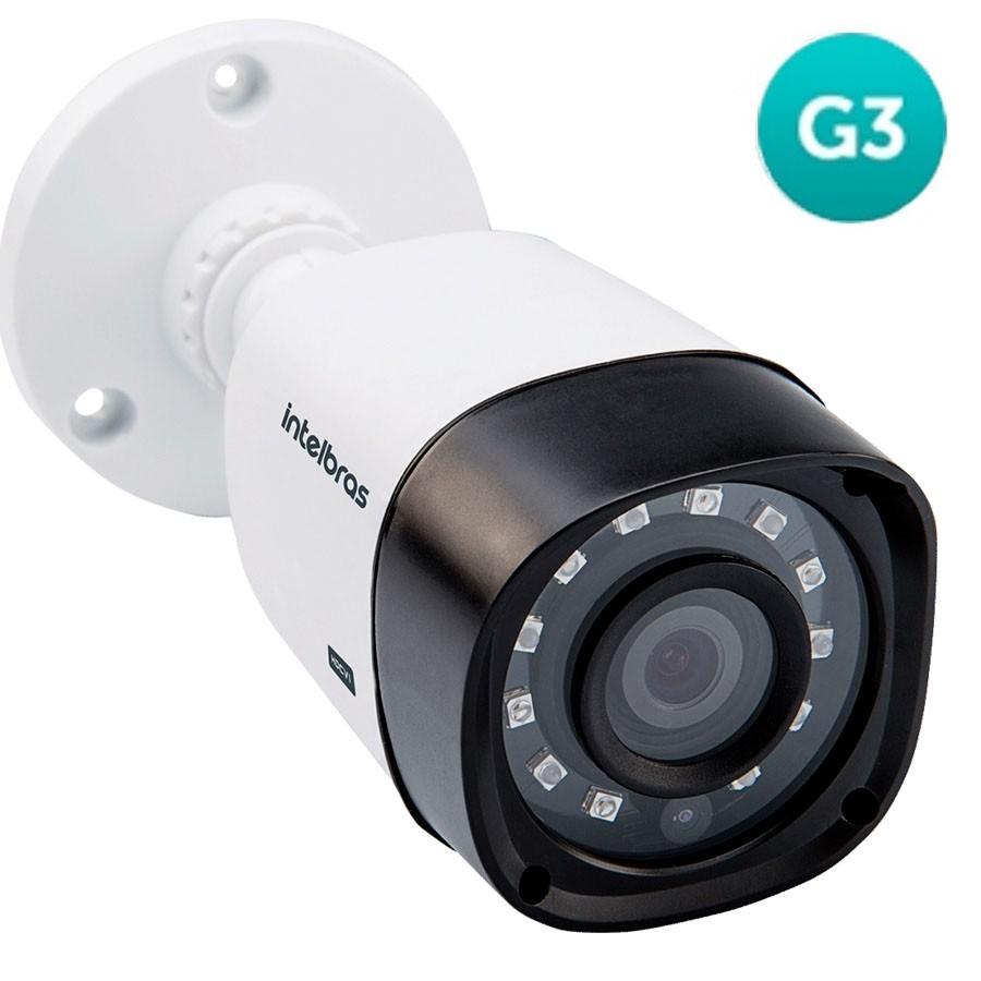 Câmera de Segurança Infravermelho Intelbras Multi HD 20 metros  VHD 1120 Bullet  - Tudoseg Cftv - Sistemas de Segurança Eletrônica