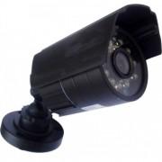 Câmera de segurança Analógica 1000 linhas com 24 leds infravermelhos e lente de 3,6mm.
