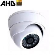 Câmera de Segurança Dome Blindada em Metal AHD 720P 1.3 Megapixel com 24 leds Infravermelho
