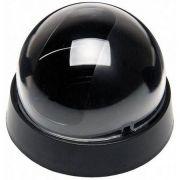 Dome para micro câmeras camuflador 3 polegadas - Preto