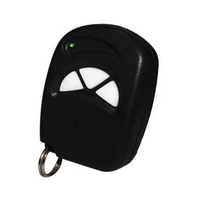 Controle remoto JFL frequência 433.92mhz- Preto  - Tudoseg Cftv - Sistemas de Segurança Eletrônica
