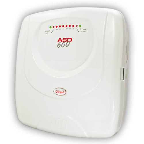 Central de Alarme Residencial / Comercial JFL ASD600 com Discadora Telefônica- 6 Setores  - Tudoseg Cftv - Sistemas de Segurança Eletrônica