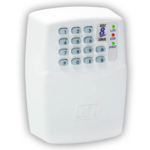 Discadora telefônica JFL Disc 8 Sinal- Linha fixa  - Tudoseg Cftv - Sistemas de Segurança Eletrônica