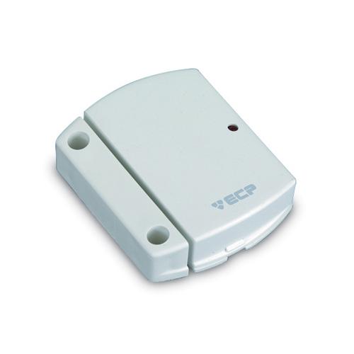 Sensor magnético ECP Intruder para uso em portas e janelas- Sem fio  - Tudoseg Cftv - Sistemas de Segurança Eletrônica