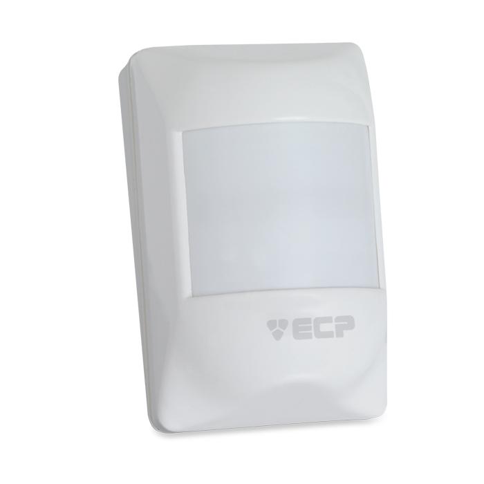 Sensor de presença infravermelho ECP Visory Pet 20 kg- Ligação por fio  - Tudoseg Cftv - Sistemas de Segurança Eletrônica