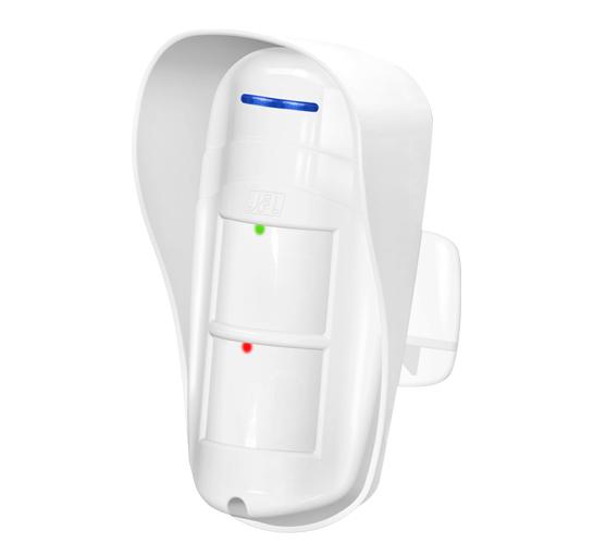 Sensor de Presença Infravermelho Microondas Externo Pet 30Kg- DSE 830 JFL  - Tudoseg Cftv - Sistemas de Segurança Eletrônica