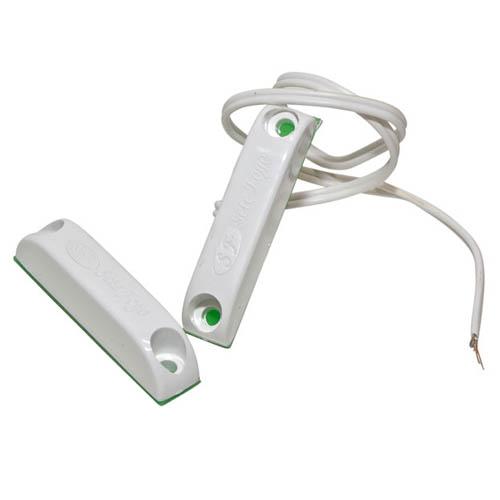 Sensor magnético sobrepor com fio- Alarme  - Tudoseg Cftv - Sistemas de Segurança Eletrônica