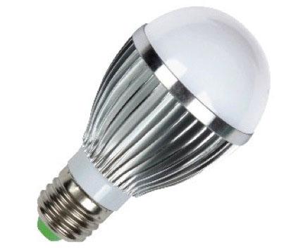 Lâmpada Led Alumínio 5W Bulbo Bivolt E27 Branco Frio 90% Mais Econômica  - Tudoseg Cftv - Sistemas de Segurança Eletrônica
