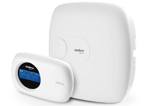 Central de Alarme Intelbras AMT 2010 10 Zonas c/ Teclado- Monitorada  - Tudoseg Cftv - Sistemas de Segurança Eletrônica