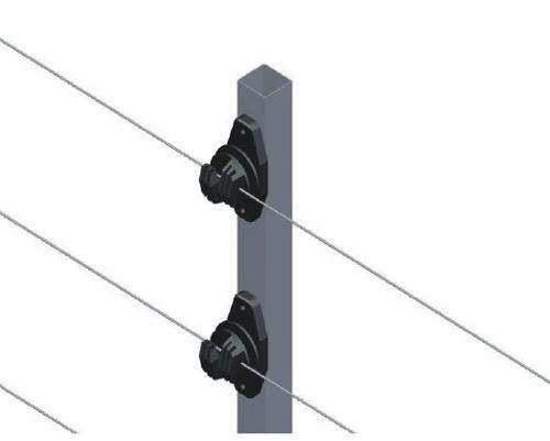 Kit Cerca Elétrica Residencial com 1 Central de Choque intelbras ELC 5002 + Big Haste com 6 isoladores  - Tudoseg Cftv - Sistemas de Segurança Eletrônica
