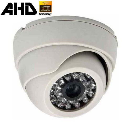 Câmera de Segurança Dome AHD 720p 1.0 Megapixel   - Tudoseg Cftv - Sistemas de Segurança Eletrônica