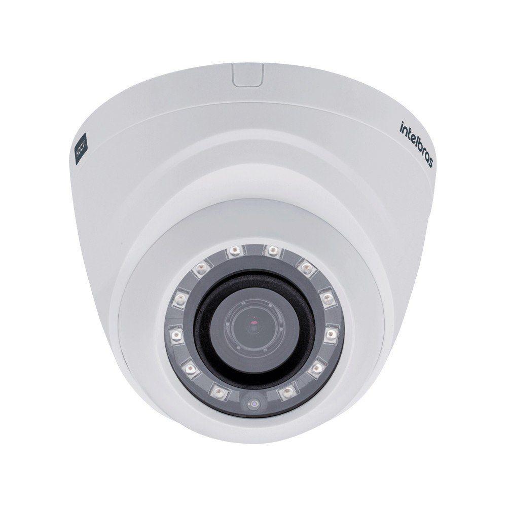 Câmera de Monitoramento Dome Intelbras 1010D Infravermelho AHD 1.0 Megapixel  - Tudoseg Cftv - Sistemas de Segurança Eletrônica