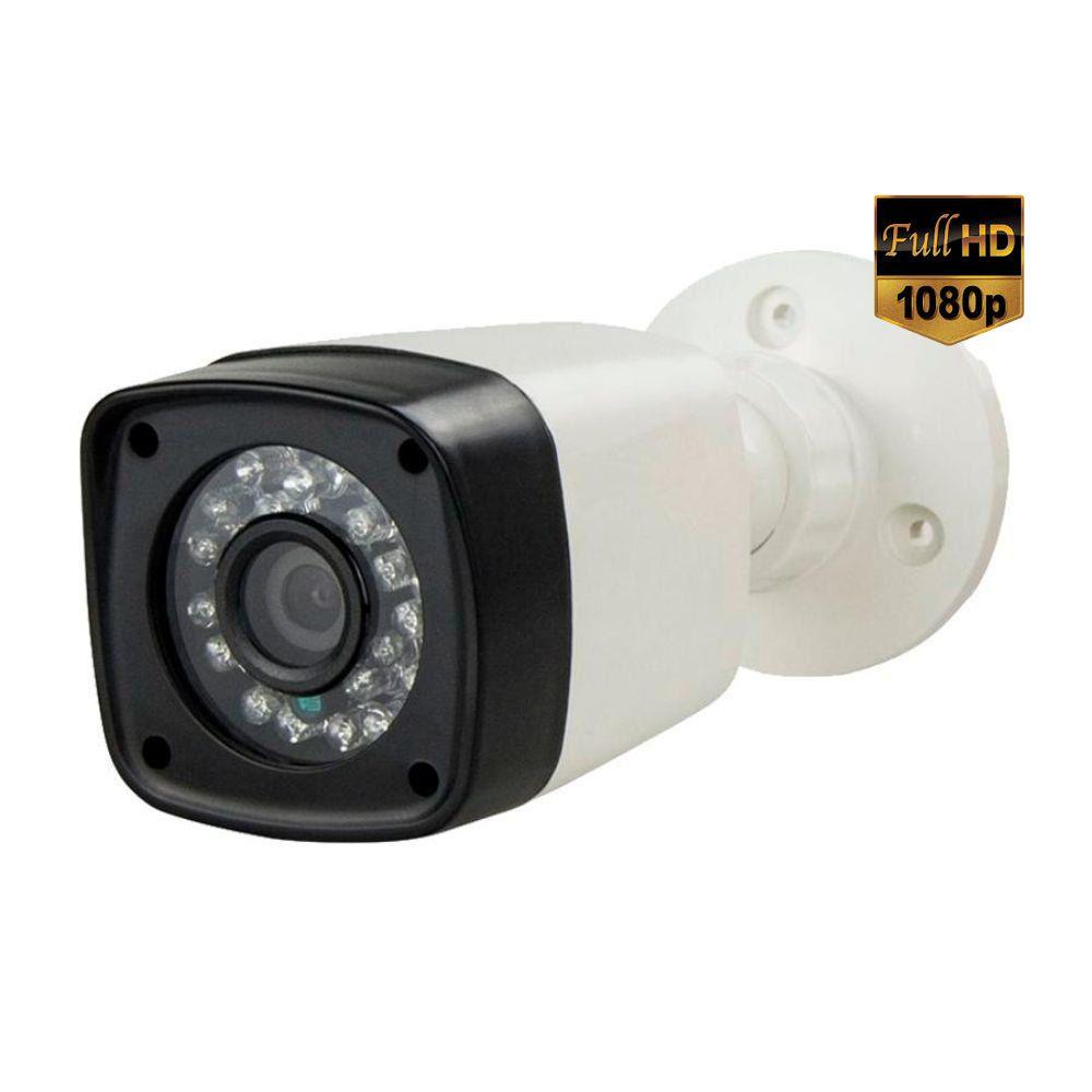 Câmera de Segurança Infravermelho 24 Leds Full HD 1080p 2.0 Megapixel - Alta Resolução  - Tudoseg Cftv - Sistemas de Segurança Eletrônica