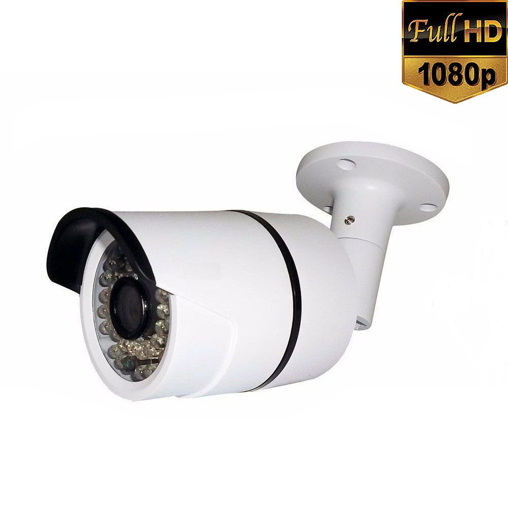 Câmera de Segurança Infravermelho 36 Leds Full HD 1080p 2.0 Megapixel - Alta Resolução  - Tudoseg Cftv - Sistemas de Segurança Eletrônica