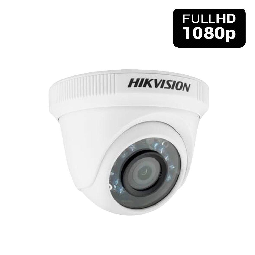 Câmera de Vigilância Hikvision Full HD 2.0 Megapixel 1080p Infravermelho 20 Metros - Alta Definição  - Tudoseg Cftv - Sistemas de Segurança Eletrônica
