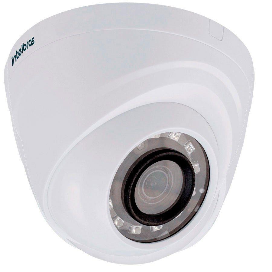 Câmera Dome Intelbras 1120D Infravermelho 20 Metros 1.0 Megapixel Multi HD  - Tudoseg Cftv - Sistemas de Segurança Eletrônica