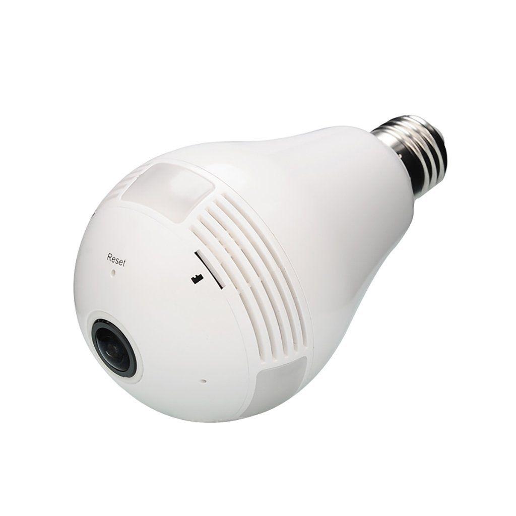 Câmera IP Com Resolução de imagem em AHD 1.3 Megapixel - Câmera em Formato Lâmpada  - Tudoseg Cftv - Sistemas de Segurança Eletrônica