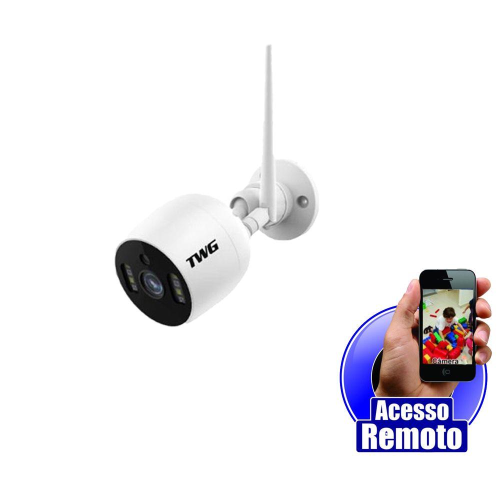 Câmera Ip Wifi Full HD 2.0 Megapixel 1080p Blindada Contra Sol e Chuva - Acesso via App  - Tudoseg Cftv - Sistemas de Segurança Eletrônica