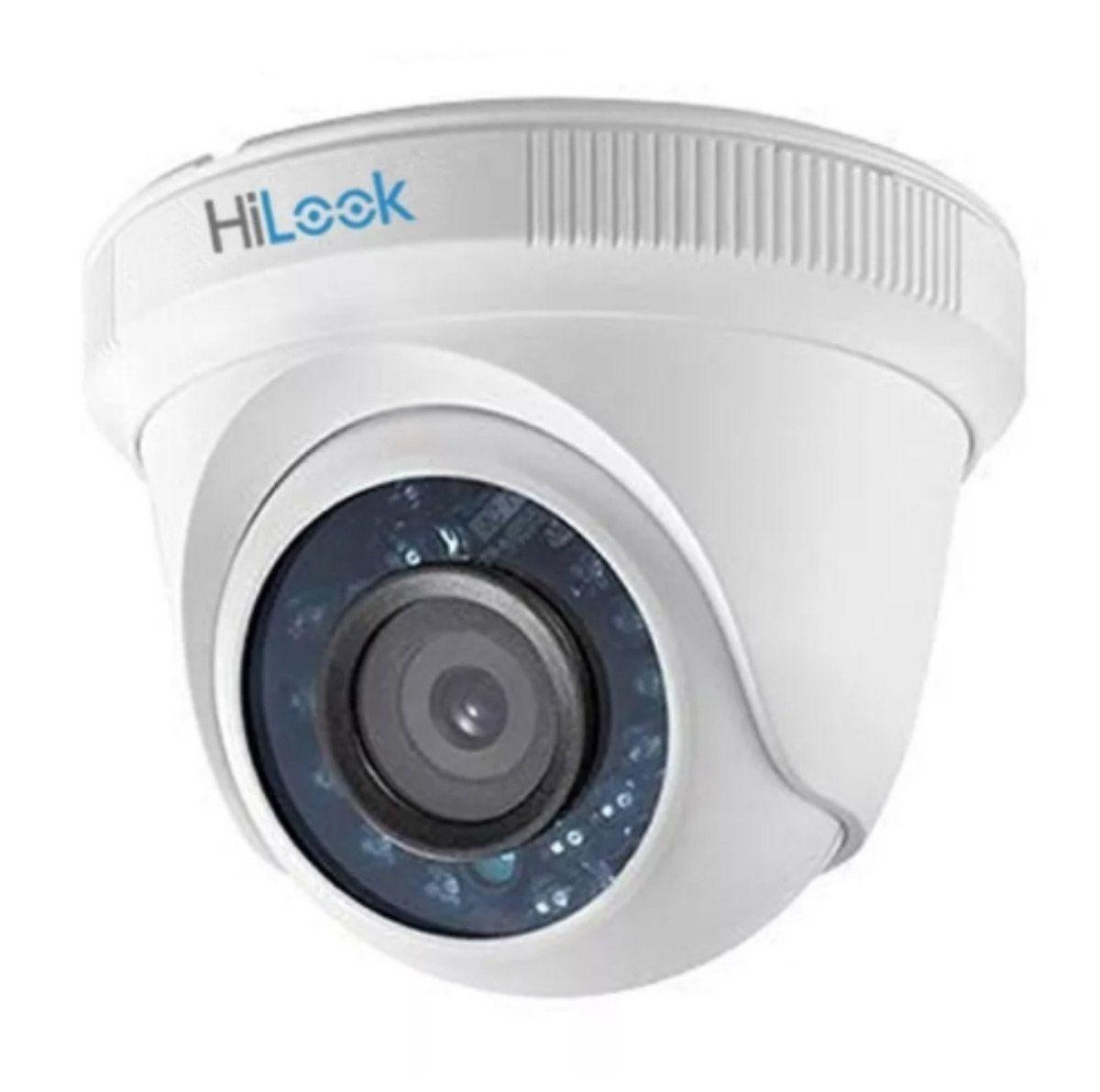 Câmera Segurança Hilook Dome Infravermelho 20 metros AHD 1.0 Megapixel 720p  - Tudoseg Cftv - Sistemas de Segurança Eletrônica