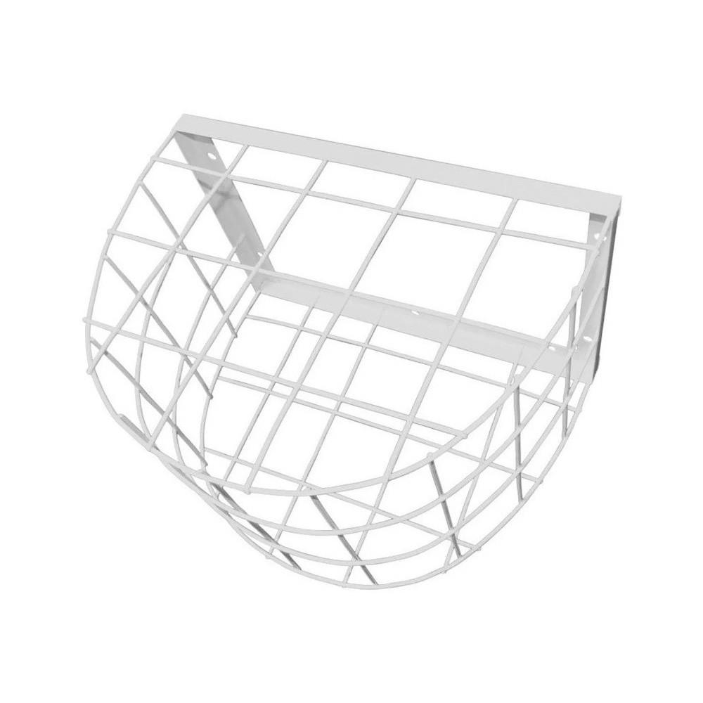 Grade de Proteção Modelo Gaiola com Pintura Anti Ferrugem - Cor Branca  - Tudoseg Cftv - Sistemas de Segurança Eletrônica