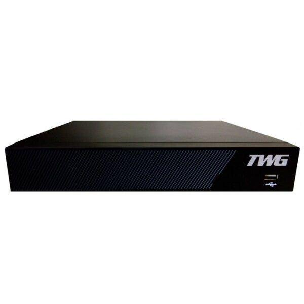 Gravador Digital de Vídeo Híbrido 4 Canais Full HD H265+ TWG 5104T 6em1  - Tudoseg Cftv - Sistemas de Segurança Eletrônica