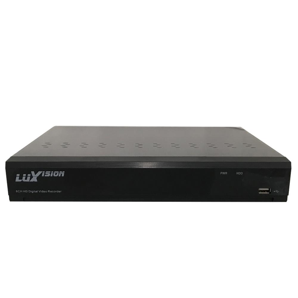 KIT 3 CÂMERAS DE SEGURANÇA LUXVISION ECD DIGITAL 1.0 MEGAPIXEL 720P DVR ALL HD 4 CANAIS  - Tudoseg Cftv - Sistemas de Segurança Eletrônica