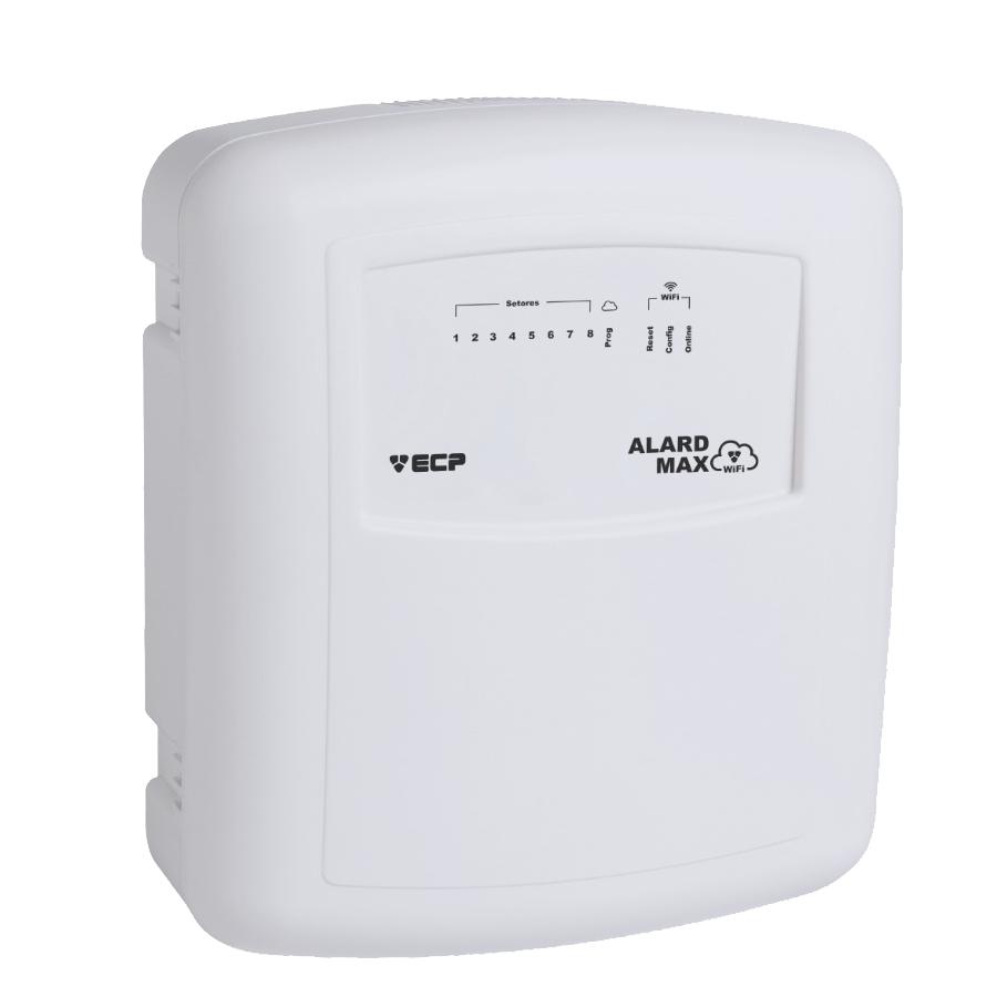 Kit Alarme Completo Central ECP Max Wifi + 4 Sensores Infravermelho Sem Fio - Acesso Via Aplicativo  - Tudoseg Cftv - Sistemas de Segurança Eletrônica