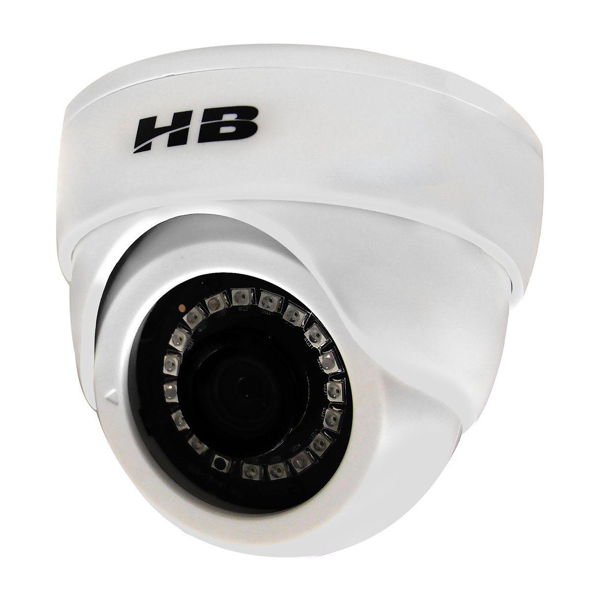 Kit Monitoramento 2 Câmeras Dome Híbridas 2 Megapixel Full HD 1080p + Gravador DVR 4 Canais Acesso Remoto  - Tudoseg Cftv - Sistemas de Segurança Eletrônica