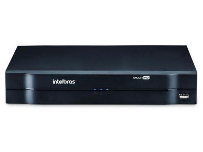 Kit Monitoramento Completo 6 Câmeras Hikvision Full HD 1080p 2.0 Mp + DVR Intelbras  - Tudoseg Cftv - Sistemas de Segurança Eletrônica