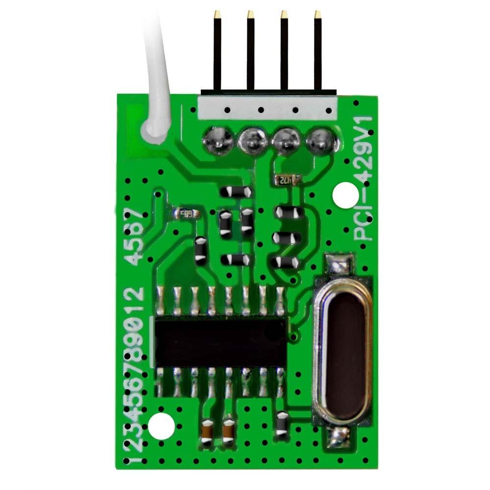Módulo Receptor JFL MRF - 01 Para Dispositivos Sem Fio  - Tudoseg Cftv - Sistemas de Segurança Eletrônica