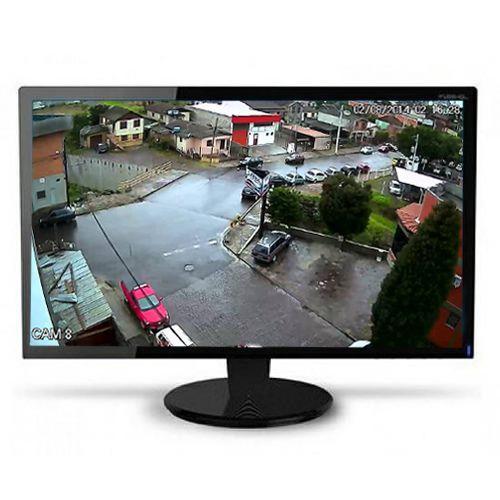 Monitor de Alta Qualidade 15,6 Polegadas Widescreen LED  - Tudoseg Cftv - Sistemas de Segurança Eletrônica