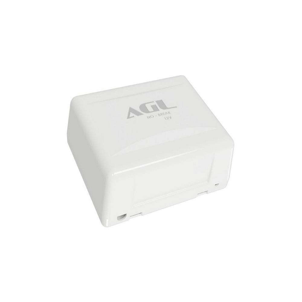 Nobreak 12v AGL - Instalado em Conjunto com Fechadura Eletroimã e Controles de Acesso  - Tudoseg Cftv - Sistemas de Segurança Eletrônica