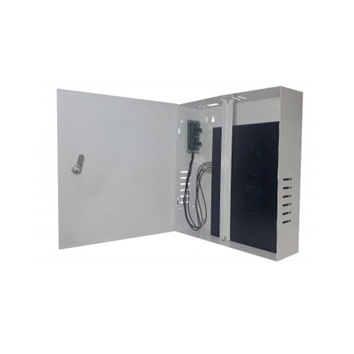 Rack Mini Fine Max Eletron Organizador Vertical 4 Canais Híbrido  - Tudoseg Cftv - Sistemas de Segurança Eletrônica