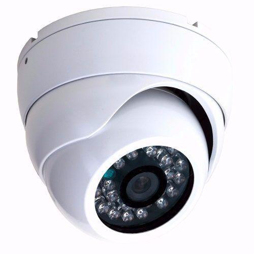 Sistema de Segurança 3 Câmeras Dome de Metal AHD 1.3 Mp Infravermelho DVR 4 Canais  - Tudoseg Cftv - Sistemas de Segurança Eletrônica
