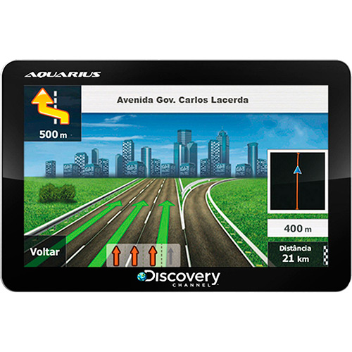 GPS Discovery Channel 4.3″ Tv Digital