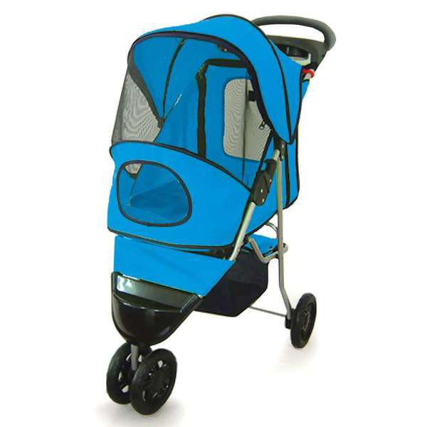 Carrinho Pet Confort Ride Eleva Mundi - Azul